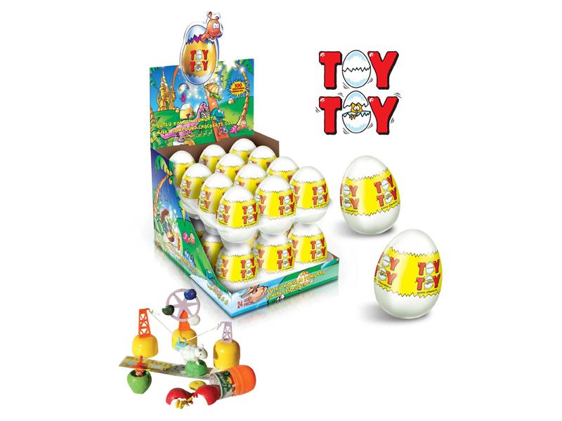 labudovic-čokoladna jaja sa igračkom-toy toy jaje sa igračkom 25gr