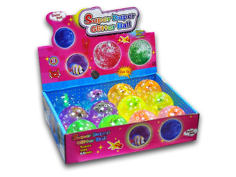 labudovic-decije zanimacije eng-Glitter Ball 65mm
