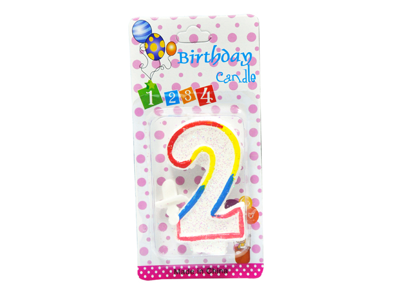 labudovic-party program eng-Birthday Candles Number 2