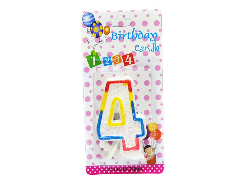 labudovic-party program eng-Birthday Candles Number 4