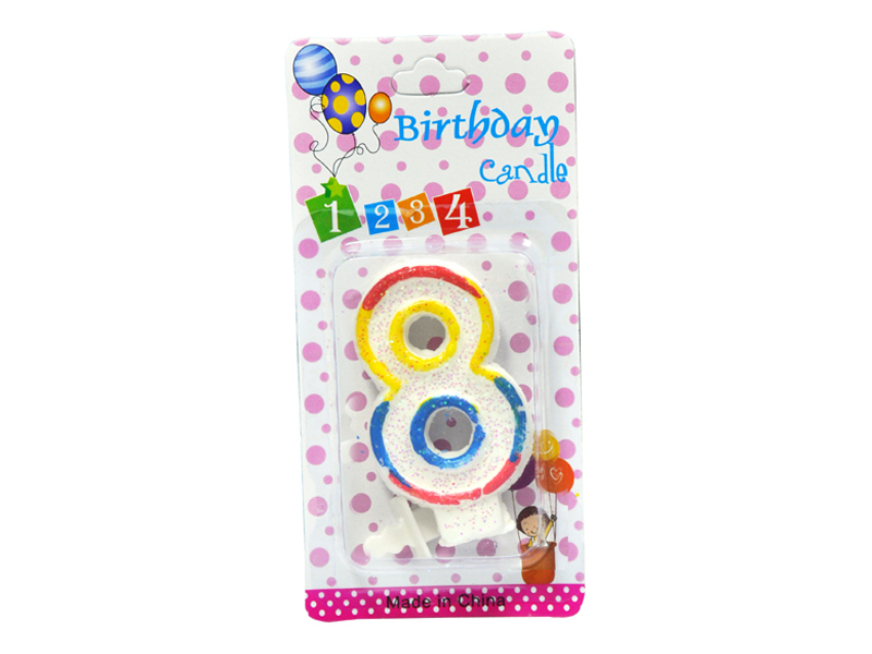 labudovic-party program eng-Birthday Candles Number 8