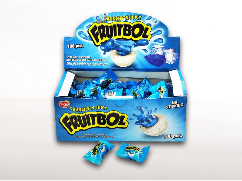labudovic-lizalice i zvake eng-Fruitbol Chewing Gum Spermint
