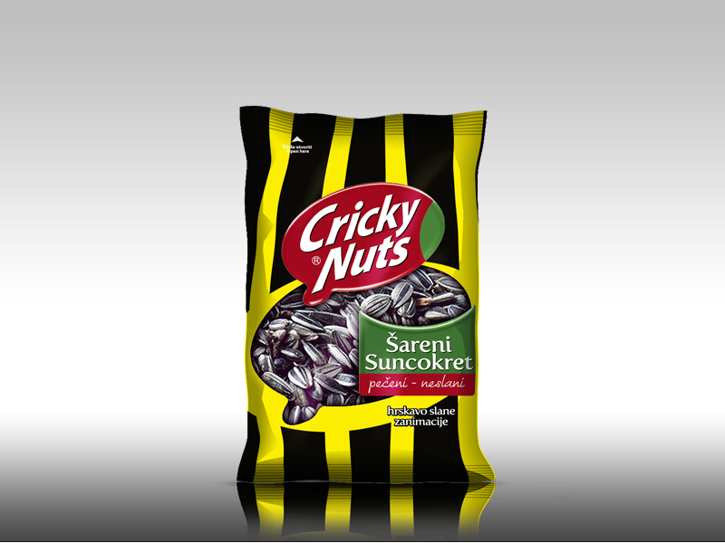 labudovic-cricky eng-CRICKY Sunflower Seeds Unsolted 40g