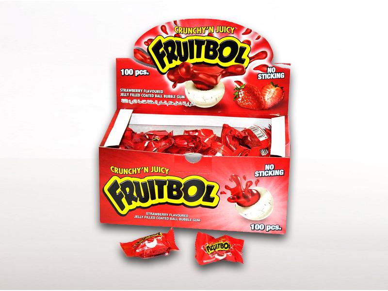 labudovic-lizalice i zvake eng-fruitbol chewing gum strawberry