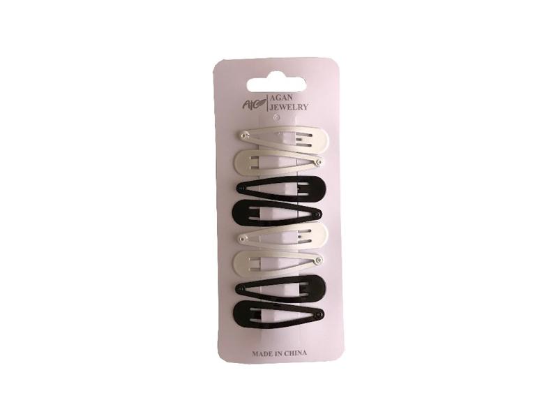 labudovic-snale za kosu eng-hair clip black white