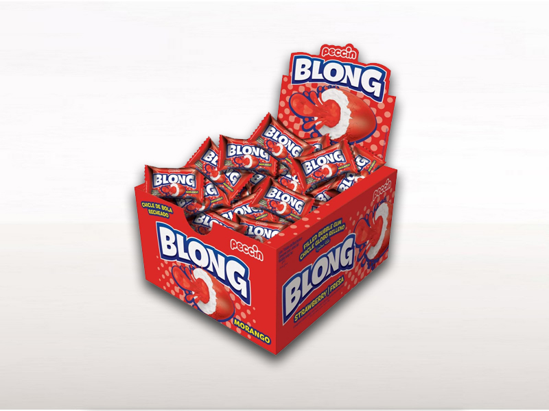 labudovic-lizalice i zvake eng-blong strawberry chewing gum 5g