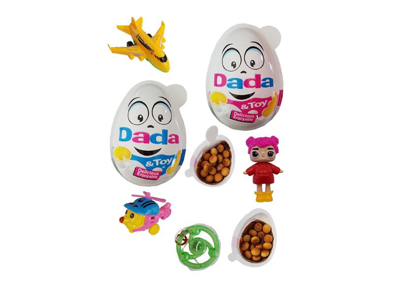 labudovic-dada-dada egg with toy