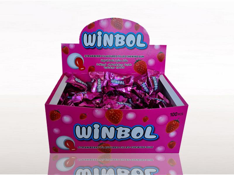 labudovic-lizalice i zvake-WINBOL Jagoda žvakaća guma 3,5g