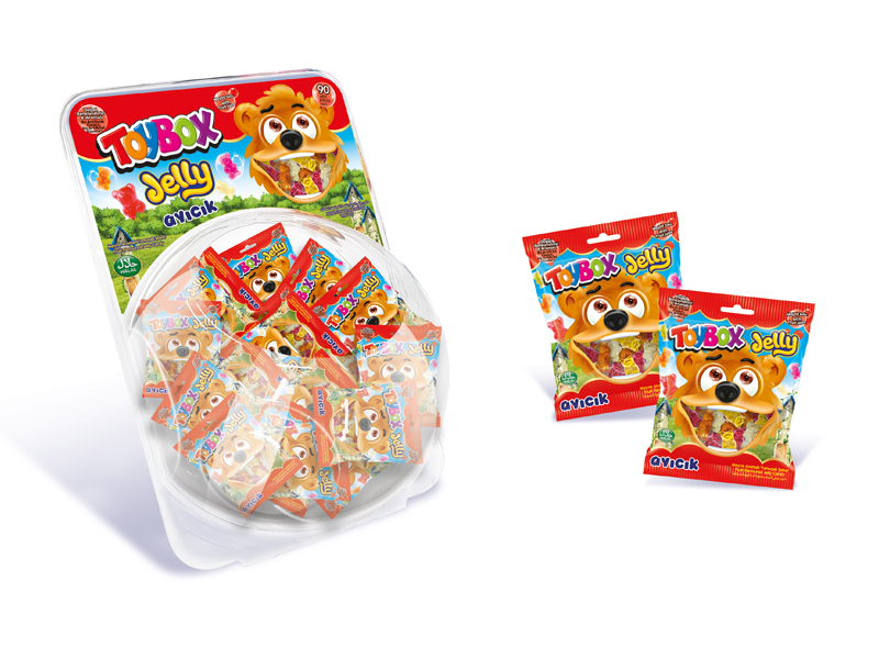 labudovic-toybox-Toy Box Jelly gumene bombone Medvedići 10g