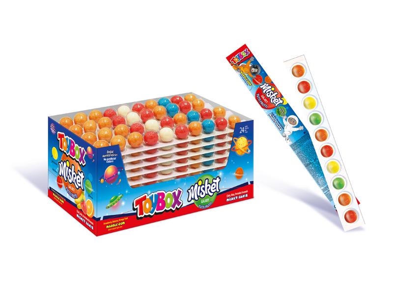 labudovic-toybox-Toy Box Misket žvake u nizu 23g