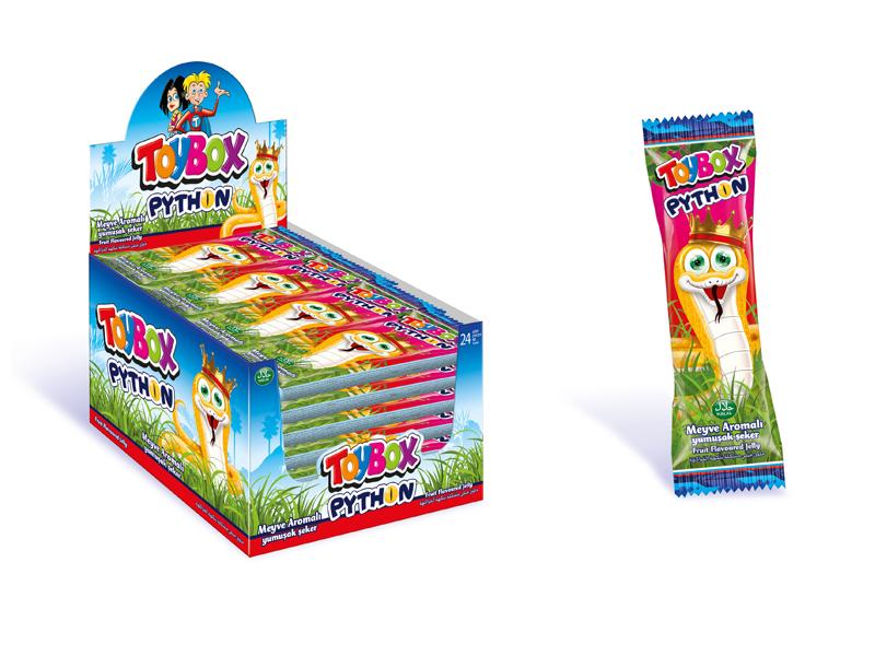 labudovic-toybox-Toy Box gumene bombone Piton 20g